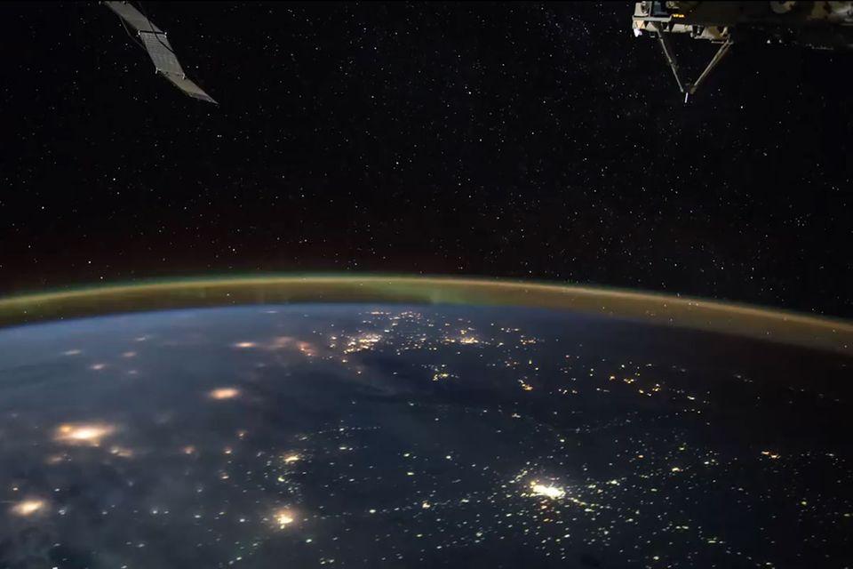 ISS: Video: Mit Satelliten auf Augenhöhe