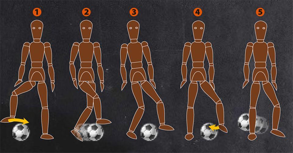 Fußball: Anleitung: So übt ihr den Neymar-Chop