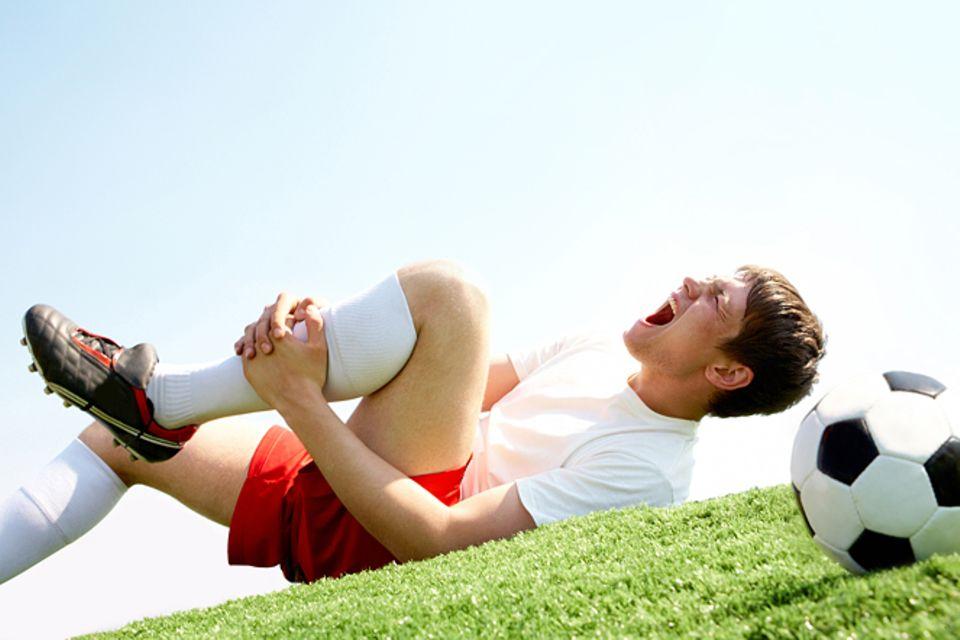 Medizin: Typische Fußballer-Verletzungen