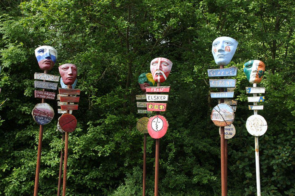 Archäologie: Die Varusmasken im Museum Kalkriese