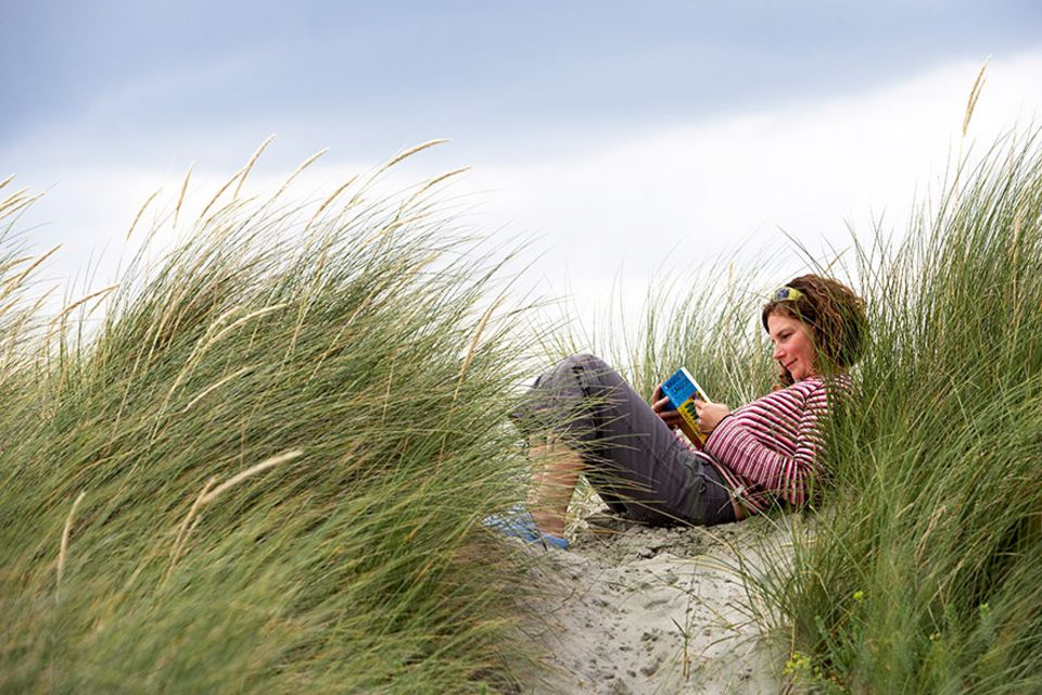 Buchauszug: Da kann der Strand noch so schön sein, der Büchernarr liest im Urlaub so viel er kann