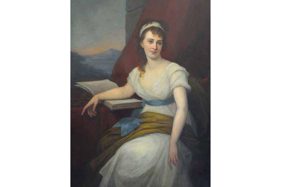Deutschland um 1800: Zur feierlichen Verkündung ihrer Promotion darf Dorothea Schlözer (1770–1825) nicht erscheinen: Unverheiratete Frauen sind bei akademischen Festivitäten nicht erwünscht