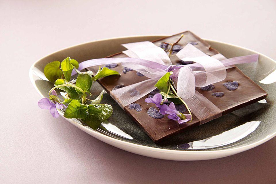 Rezept: Ein schönes Mitbringsel: selbstgemachte Schokolade