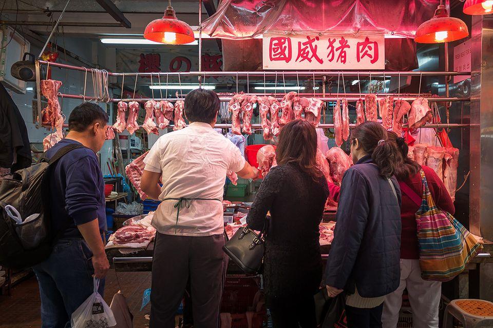 Ernährung und Klima: Chinesen sollen 50 Prozent weniger Fleisch essen