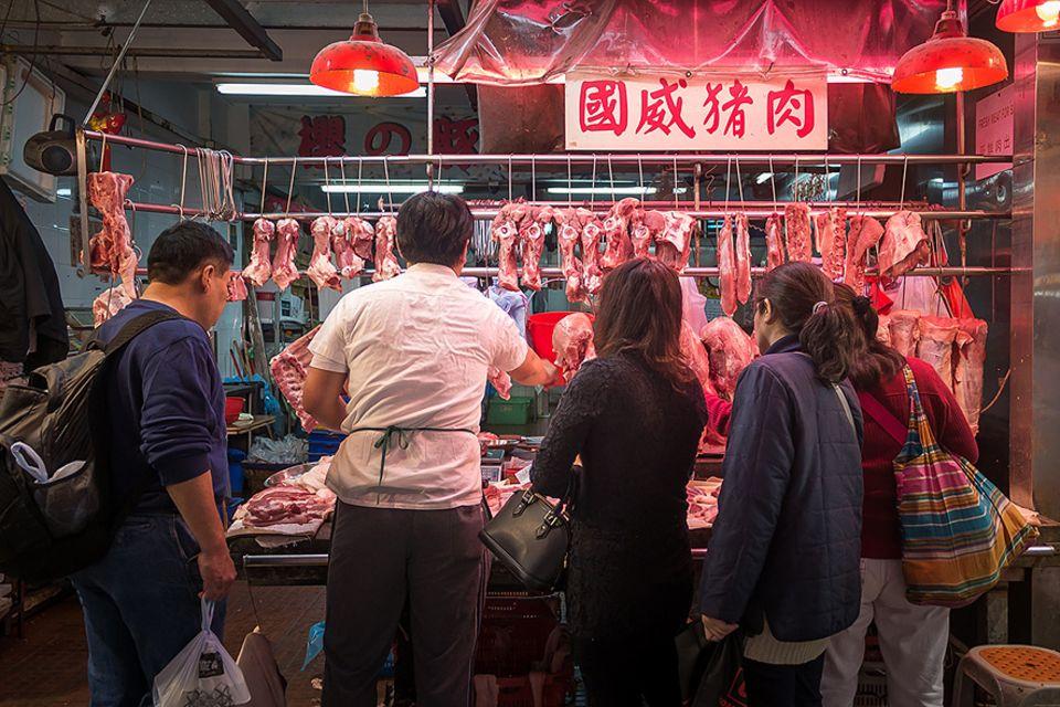 Ernährung und Klima: Darf's auch ein bisschen weniger sein? Chinesen vor der Wahl: Fleisch oder Klima