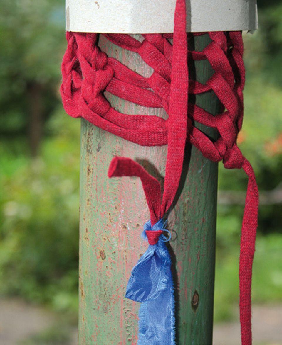 Stricken: Mit mehreren Farben stricken