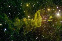 Spinnennebel im Sternbild Fuhrmann