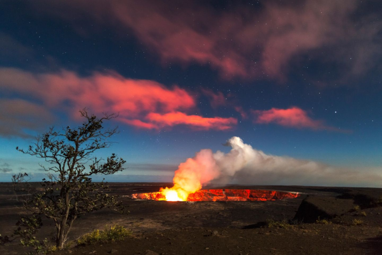 Hawaiʻi Volcanoes Nationalpark, Hawaii