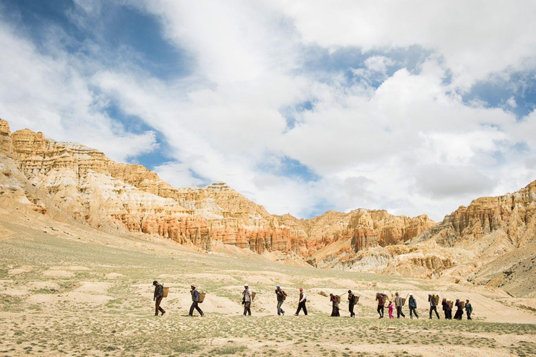 Sam Dzong - ein Dorf zieht um