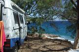Camping Tserfos, Elliniko, Griechenland
