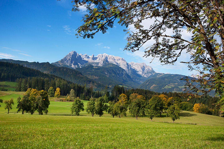 Sanfte Mobilität im Alpendorf