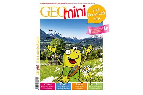 GEOmini: GEOmini Ferienheft 2016