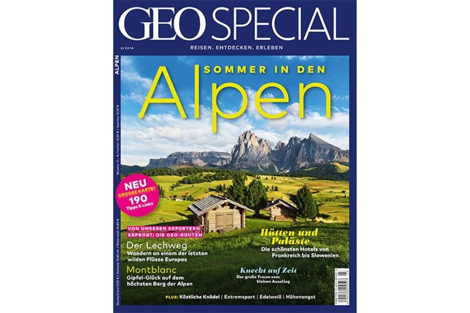 GEO SPECIAL Alpen Cover