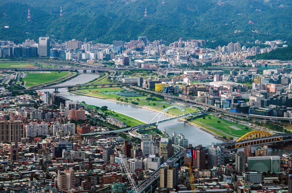Beruf: Taipeh, die Hauptstadt von Taiwan