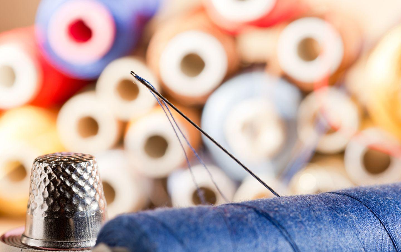 Englische Redewendung: A stitch in time saves nine