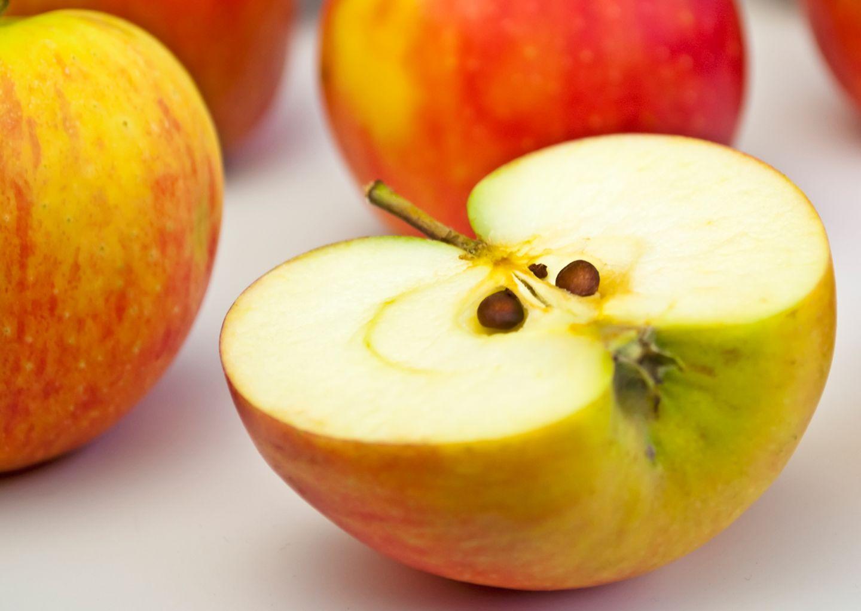 Englische Redewendung: An apple a day keeps the doctor away