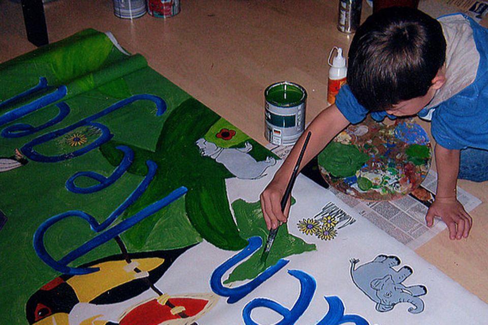 Schüler schützen den Regenwald