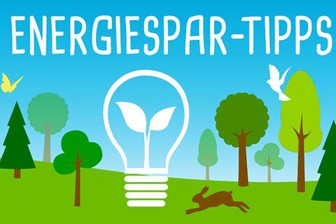 Strom: Energiespar-Tipps