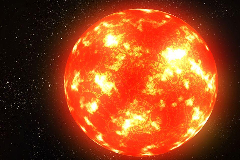 Astronomie: Entstehung der Sonne