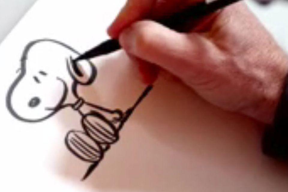 Peanuts: So zeichnet ihr Snoopy