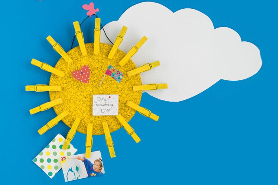 Upcycling-Idee: Wir basteln einen Sonnengruß