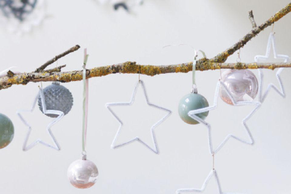 Basteln: Advents-Sterne
