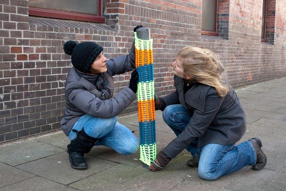 urban knitting: Verstrickt und zugenäht