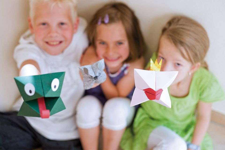 Basteln: Im Origami-Fieber