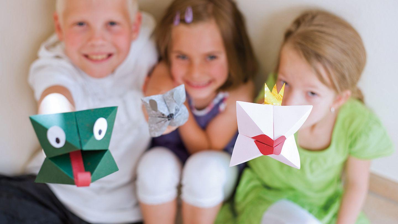 Basteln Im Origami Fieber   [GEOLINO]