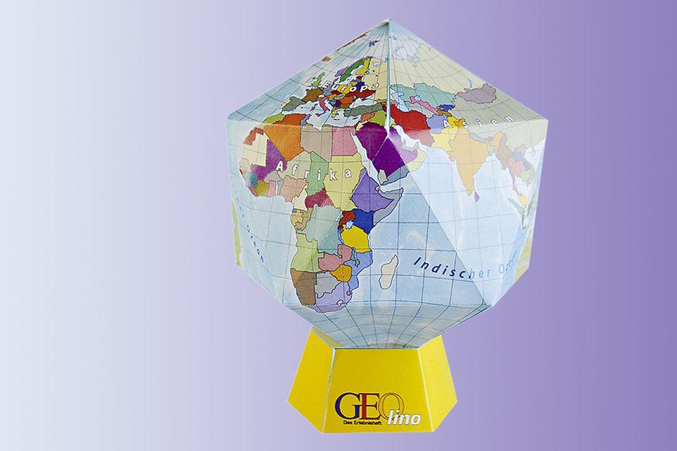 Globus basteln: So baut ihr einen Globus