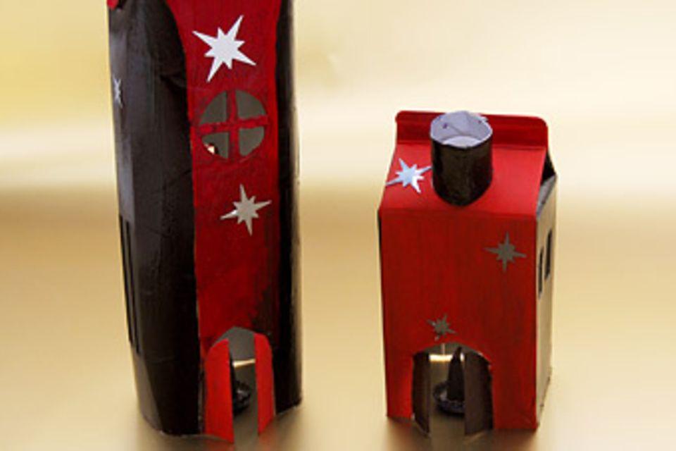 Basteltipp: Räucherhäuschen für die Weihnachtszeit