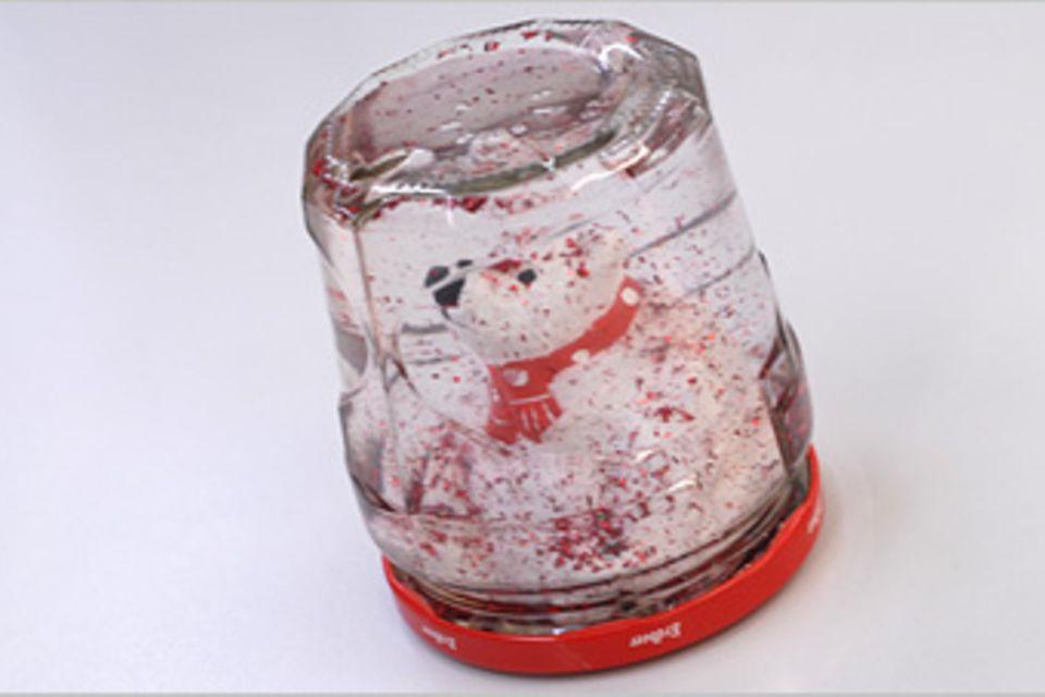 Basteltipp: Schneekugel