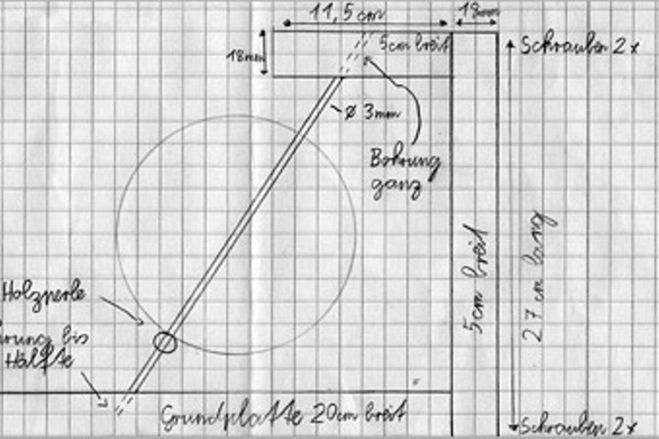 Basteltipp: Ein Ständer für den GEOlino Behaim-Globus
