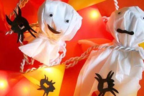 Halloween: Gruselige Lichterketten