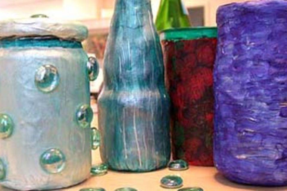 Upcycling: Glasdosen neu verwenden