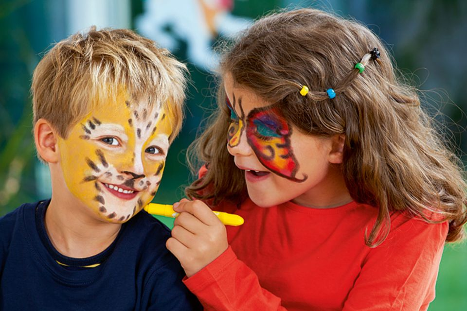 Schminkvorlage: Schminktipps für den Karneval