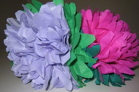 Basteltipp: Papierblumen basteln