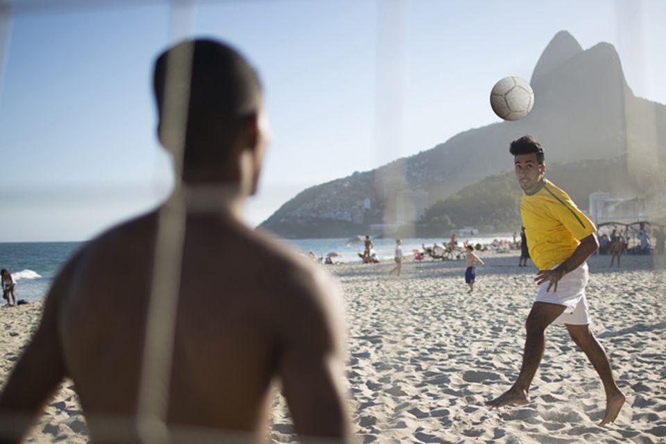 Brasilien: Brasilien im Fussballfieber