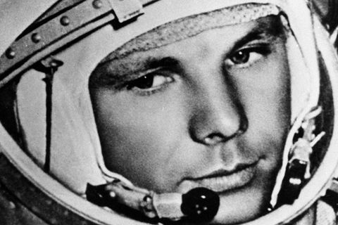 Weltraumeroberer Juri Gagarin