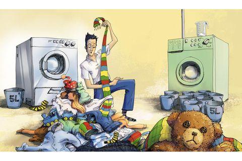 Waschen: Waschen (fast) ohne Wasser