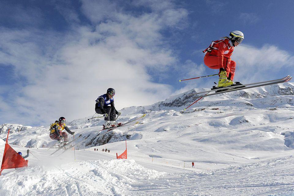 Sport: Skicross: Im Freistil durch den Schnee