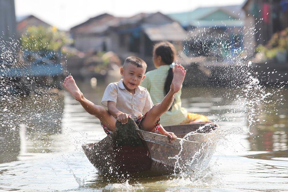 Kambodscha: Leben auf dem Wasser
