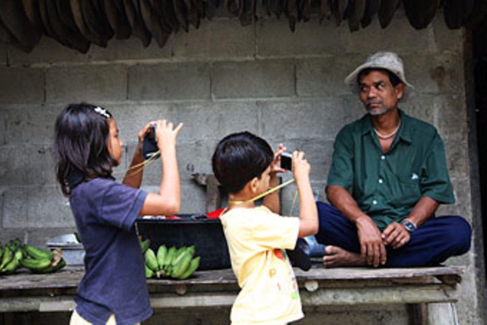 Fotografieren und Freundschaften knüpfen