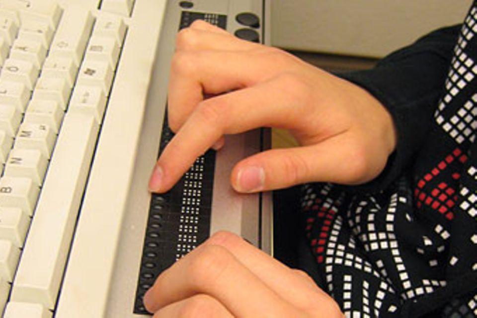 Wie Blinde im Internet surfen