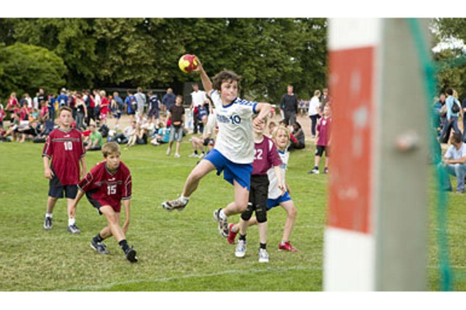 Handball ist kein Wattepusten!