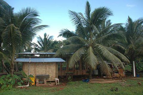Fidschi-Tagebuch, Teil 13: Das Haus nimmt Form an