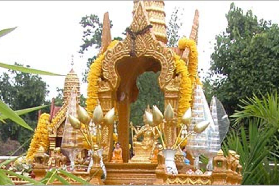 Thailändische Geisterhäuschen