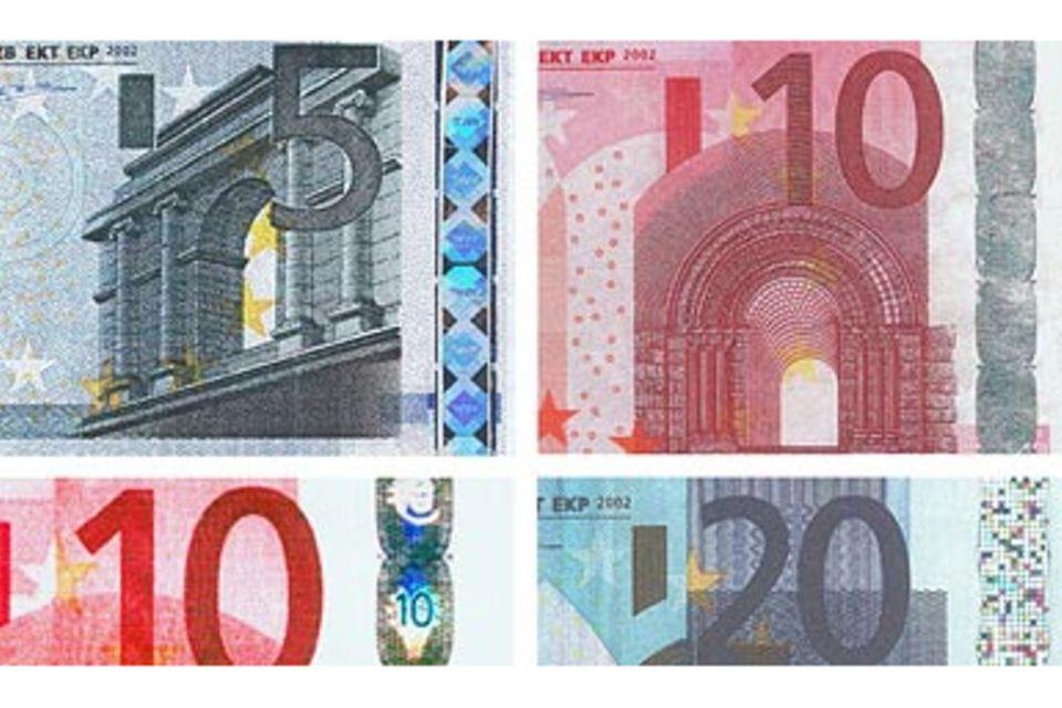 Geld: Dem Falschgeld auf der Spur