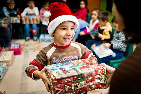 Weihnachten: Weihnachten im Schuhkarton