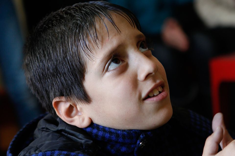 Fotostrecke: Die Flüchtlingskinder Syriens